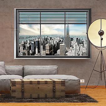 Wallpaper - New York venster