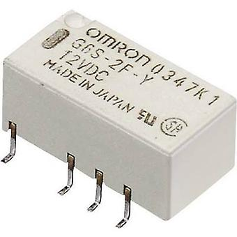 Omron G6S-2F 12 VDC PCB relay 12 Vdc 2 A 2 change-overs 1 pc(s)