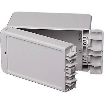 Bopla Bocube B 140809 PC-V0-7035 Wall-mount enclosure, Build-in casing 80 x 151 x 90 Polycarbonate (PC) Light grey (RAL 7035) 1 pc(s)