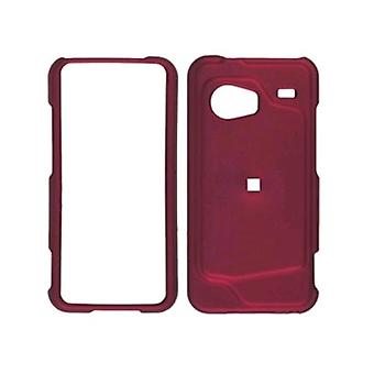 Two piece Soft Touch Snap-On Case for HTC Droid Incredible ADR6300 (Front/Back)