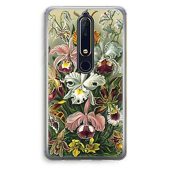 Nokia 6 (2018) Transparent Case - Haeckel Orchidae