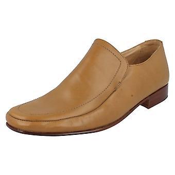 Mens Grenson Formal Shoes Dakota 9686-02 Tan Size 8.5F