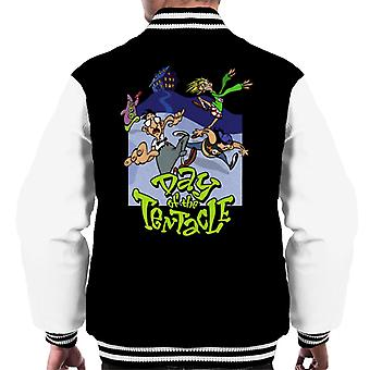 Day Of The Tentacle Men's Varsity Jacket