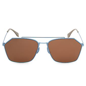 Fendi Eyeline Aviator Sunglasses FFM0022S F MVU 70 59