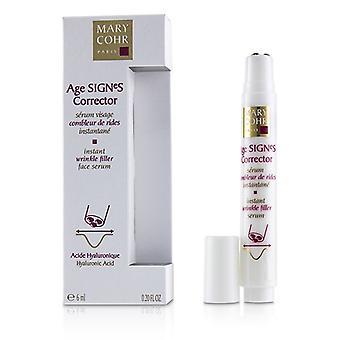 Mary Cohr Age SIGNeS Corrector - Instant Wrinkle Filler Serum - 6ml/0.2oz