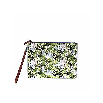 PINKO STARNAZZO ENVELOPE WITH FLORAL PRINT