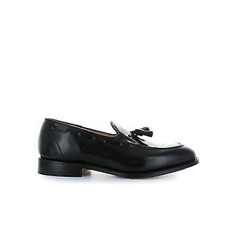 CHURCH'S BLACK POLISHBINDER KINGSLEY 2 MOCCASIN