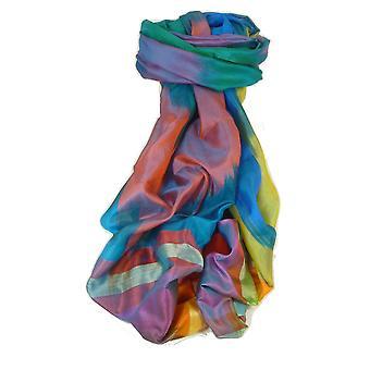 Varanasi Ekal Premium Silk lange sjaal Heritage Range Chana 2 door Pashmina & Silk
