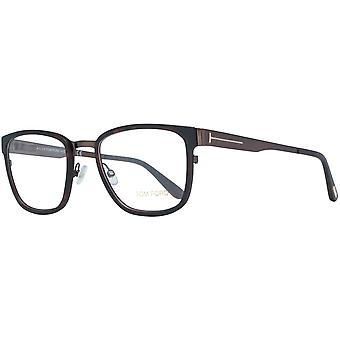 Tom Ford men's metal & plastic glasses Brown