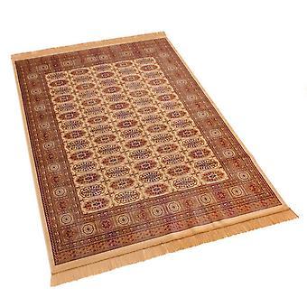 Persian Bokhara Artsilk Faux Silk Effect Rugs 8438/4 140 x 200cm