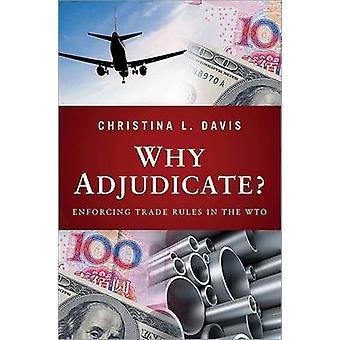 Warum entscheiden? -Durchsetzung der Regeln des Handels in der WTO von Christina L. Dav