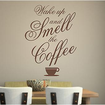 Coffee wall decal sticker