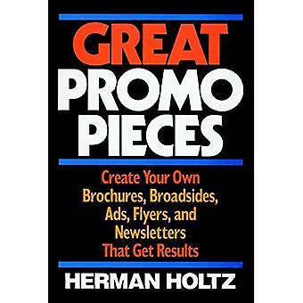 Promo grandes piezas: Crea tus propios folletos, costados, anuncios, volantes y boletines que obtengan resultados