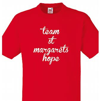 Team St margarets hope Red T shirt