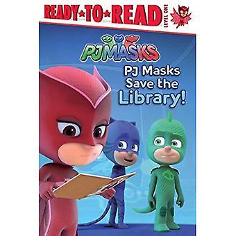 PJ masker spara bibliotek! (Redo att läsa. Nivå 1)