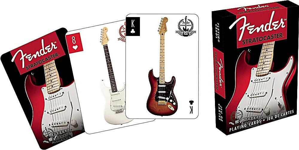 Fender Stratocaster set of playing cards    (nm)