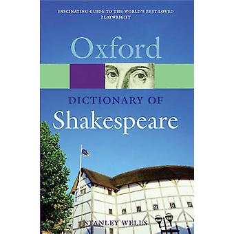 Dictionary of Shakespeare Reissue by Wells & Stanley W
