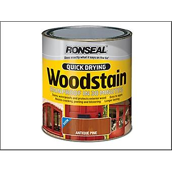Ronseal Quick Drying Woodstain Satin Rosewood 2.5 Litre