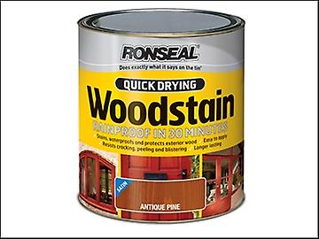 Ronseal Quick Drying Woodstain Satin Mahogany 250ml