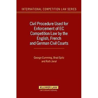 Procedimiento civil utilizado para la aplicación del derecho de competencia comunitario por los tribunales civiles franceses y alemanes ingleses por Cumming
