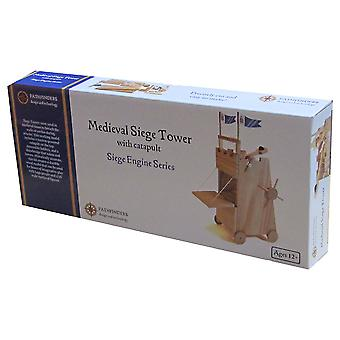 Pathfinders Medieval Siege Tower Wooden Kit