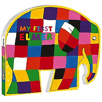 My First Elmer - Shaped Board Book by David McKee - 9781783446773 Book