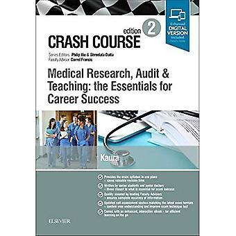 Crash Course medicinsk forskning, revision och undervisning: viktigaste för karriär framgång (Crash Course)