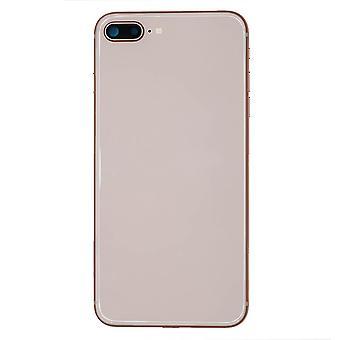 Komplettes Rücken-Gehäuse-Rose-iPhone 8 Plus   iParts4u