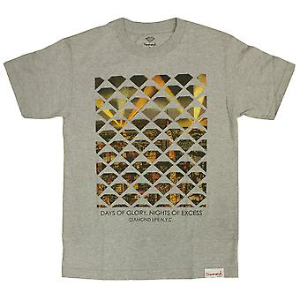 Diamond Supply Co NYC Excess T-shirt Heather