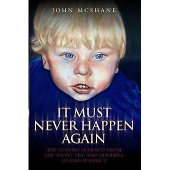 It Must Never Happen Again by John McShane - 9781844547890 Book