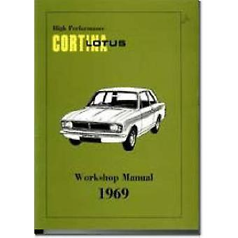 High Performance Lotus Cortina Mk.2 Workshop Manual by Brooklands Boo