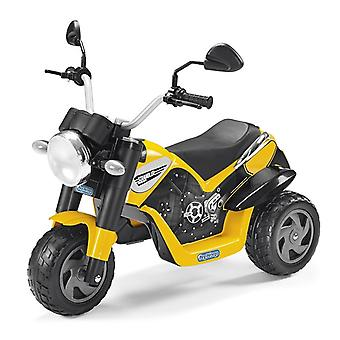 Peg Perego 6V Ducati Scrambler Kids Electric Trike Yellow