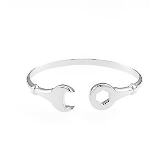 Eternity Sterling Silver Spanner Childs Bangle