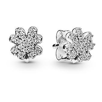 PANDORA Radiant Clover Earrings
