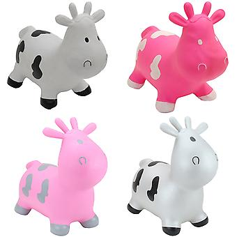 Happy Hopperz Inflatable Bouncy Ride On Toys - Cows
