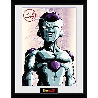 Dragon Ball Z Frieza Framed Collector Print 40x30cm
