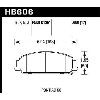 Hawk Performance HB606B.650 HPS 5.0