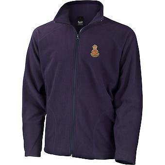 Queens Lancashire regemente-licensierad brittisk armé broderad lätt microfleece jacka