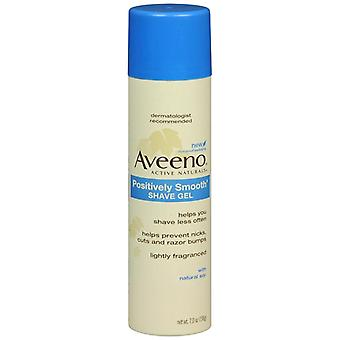 Aveeno positively smooth shave gel, 7 oz