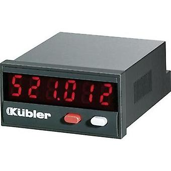 Kübler CODIX 521 Pulse counter Codix 521 Assembly dimensions 45 x 22 mm