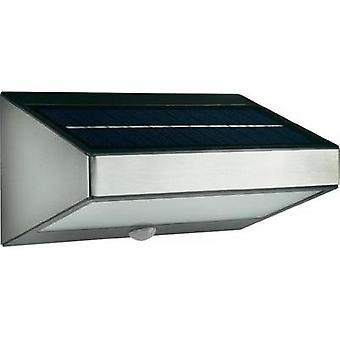 Solar outdoor wall light ( + motion detector) 1.5 W Warm white Philips 178114716 Greenhouse Grey