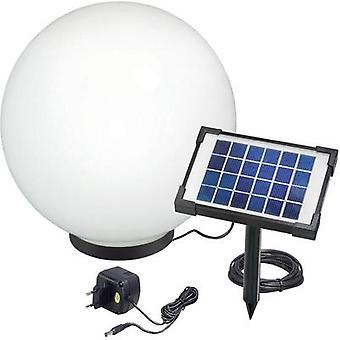 Solar decorative light Solar globe LED RGB Esotec Mega 40 106038 Black, White