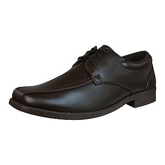 Brickers 2186 Mens Lace Up Shoes - Brown