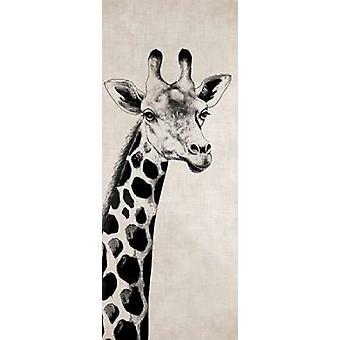 Girafe j'ai Poster Print par Vivien Rhyan