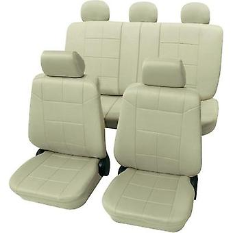 Seat covers 17-piece Petex 22574909 Dakar SAB 1 Vario Plus Polyester Beige