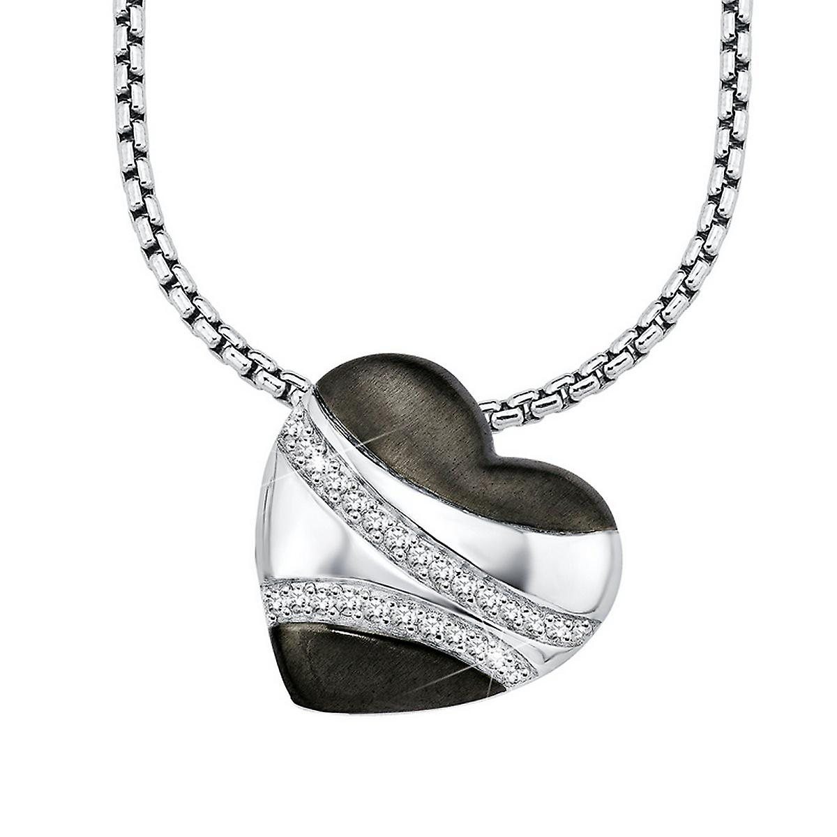 s.Oliver Jewel Damen Kette Collier Silber Zyrkonia SO829/1 - 418607