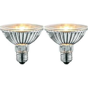 HV halogen 92 mm Sygonix 230 V E27 50 W Warm white EEC: E Reflector bulb dimmable 2 pc(s)