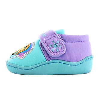 Disney Frozen Aqua/Lilac Slippers Kids Sizes 6 to 13