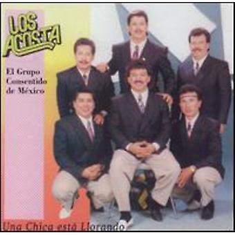 Los Acosta - Una Chica Esta Llorando [CD] USA import