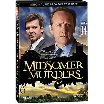 Midsomer Murders: Series 14 [DVD] USA import